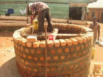 Construción del nuevo pozo